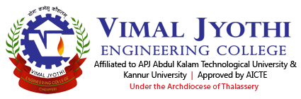 Vimal Jyothi Engineering College Logo, Chemperi, Kannur, Kerala, India