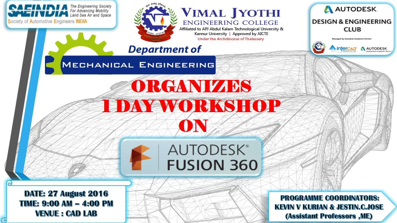 Department Of Mechanical And Engineering Engineering Of Vimal Jyothi Engineering College