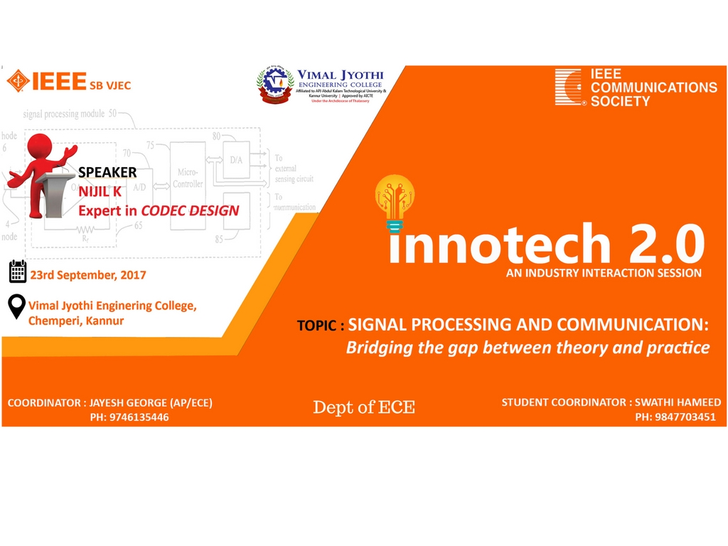 INNOTECH 2.0- An Industry Interaction session