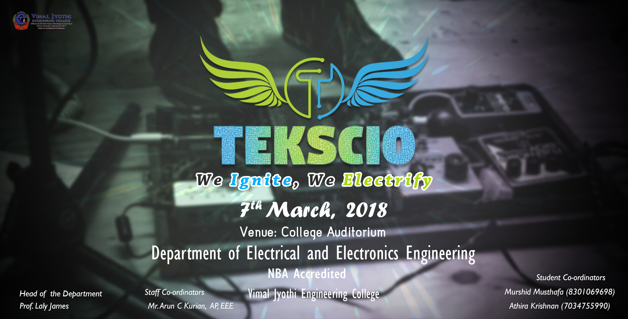 TEKSCIO - EEE  Department Tech fest