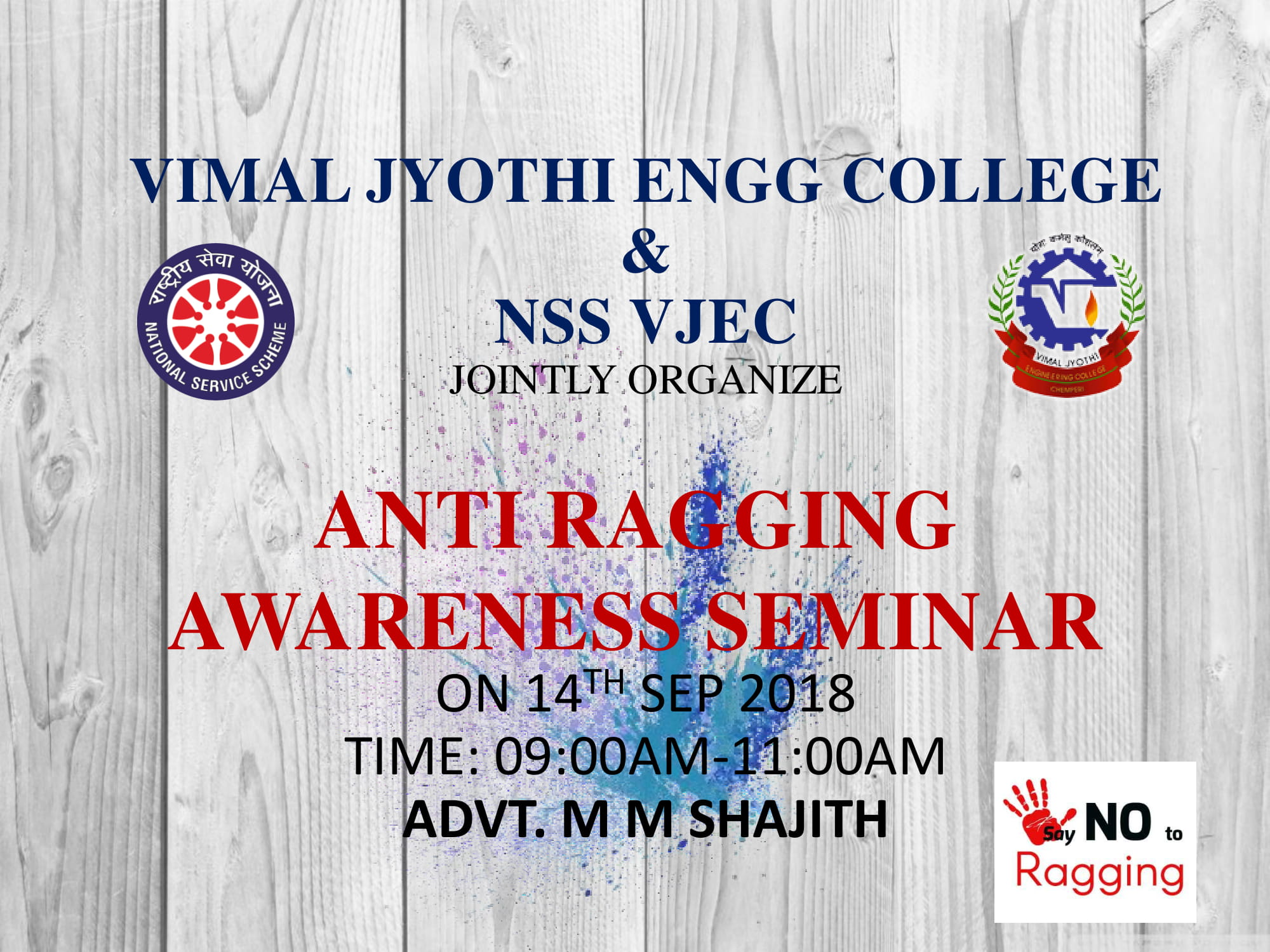 Anti Ragging seminar