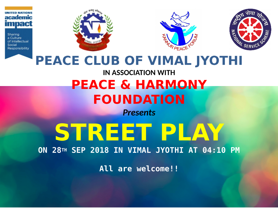 Street Play Performance - Peace Club
