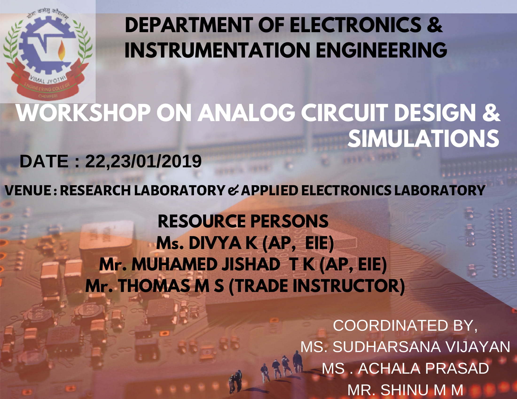 WORKSHOP ON ANALOG CIRCUIT DESIGN
