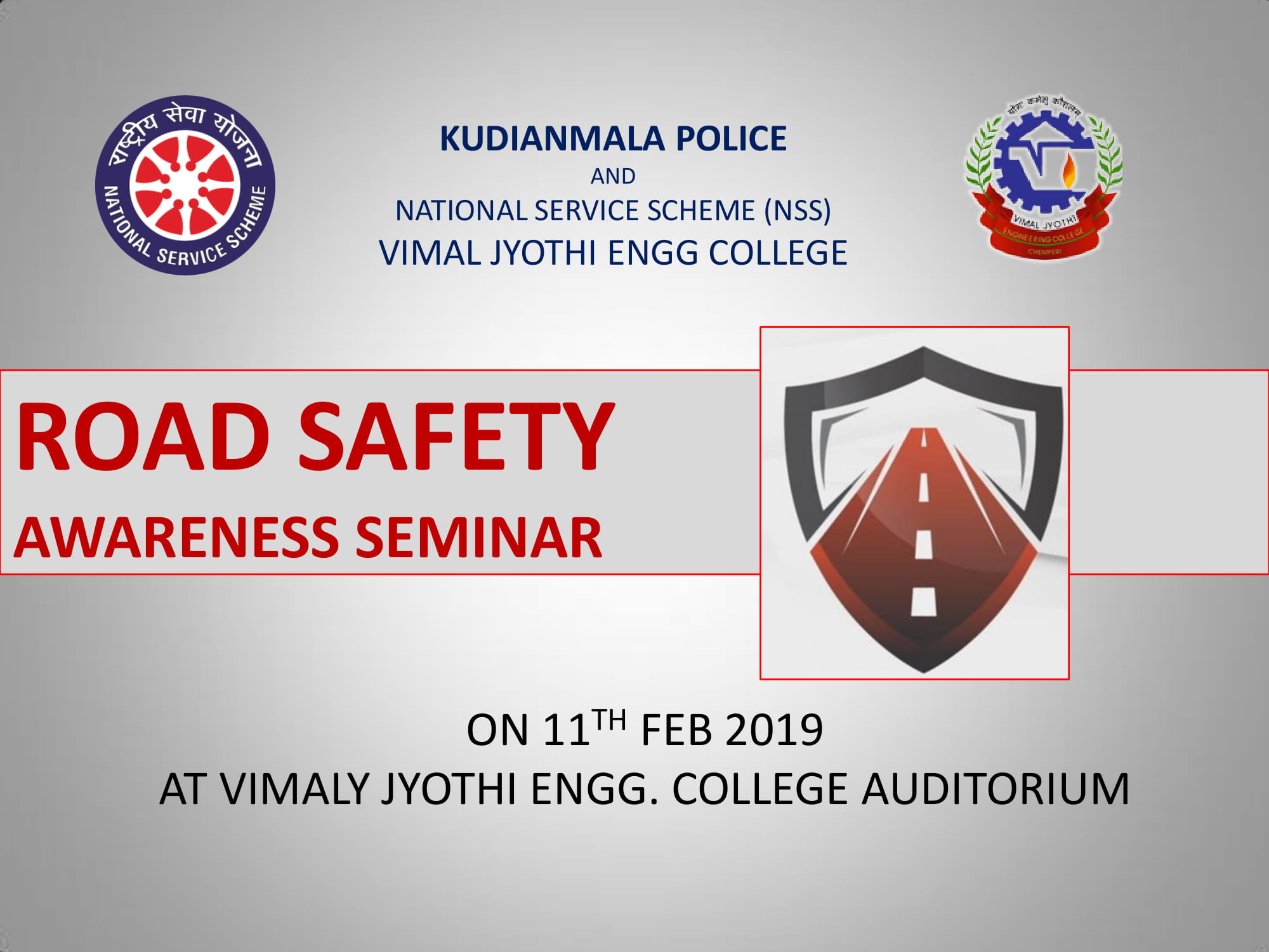 ROAD SAFETY AWARENESS SEMINAR