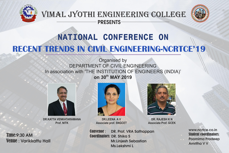 Department of Civil Engineering of Vimal Jyothi Engineering