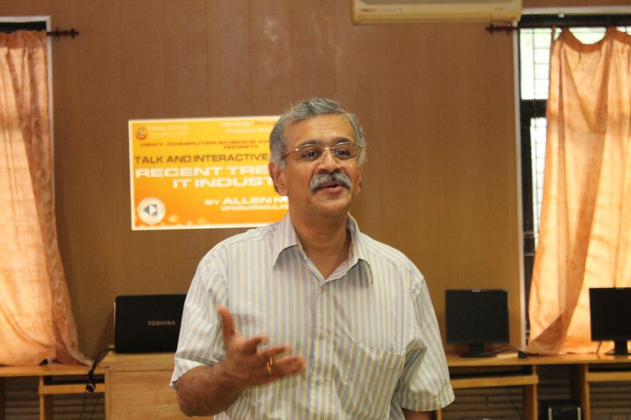 A Session on Recent Trends in IT Industry