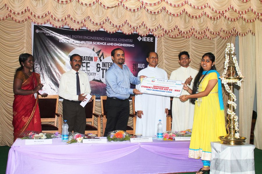 Inauguration IEEE -CS and Workshop 2014