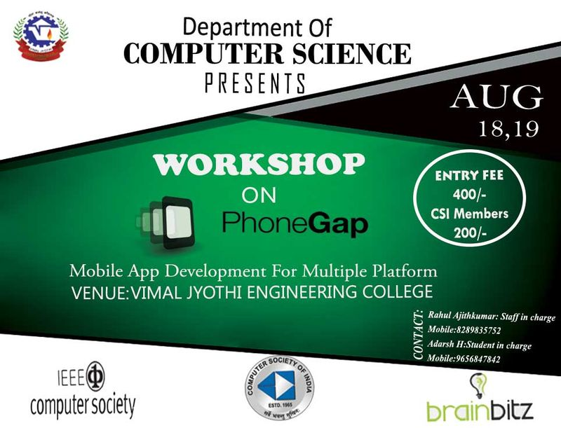 Workshop on PHONEGAP